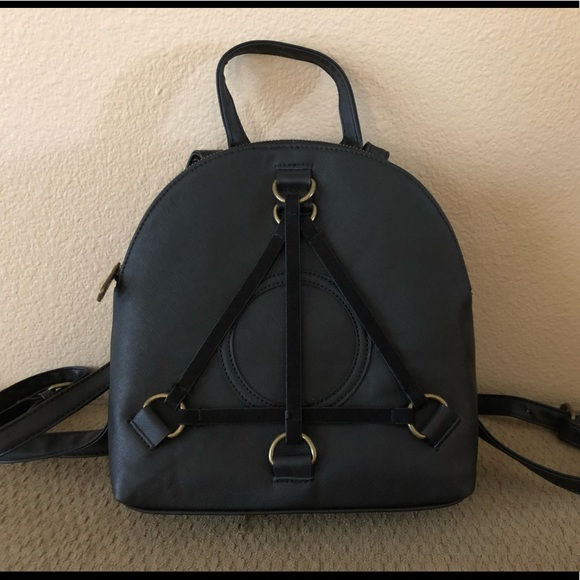 Loungefly Handbags - Loungefly Harry Potter Deathly Hallows Backpack